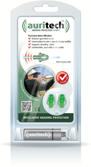 Auritech Shoot Hearing Protectors - packshot