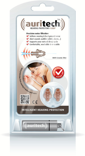 Auritech Sleep Hearing Protectors - packshot