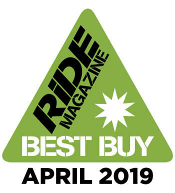 Auritech chosen as Ride Magazine Best Buy, April 2019