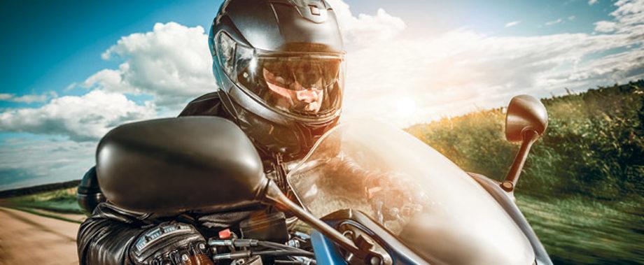 Auritech biker photo