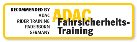 Recommended by ADAC Rider Training